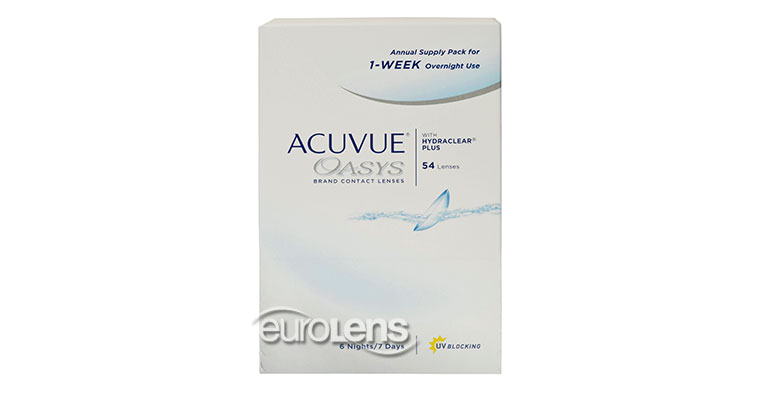 Acuvue Oasys 1-Year Supply for Overnight Use
