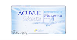 Image of Acuvue Oasys for Astigmatism